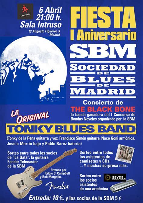 April  2013  Sociedad De Blues De Madrid
