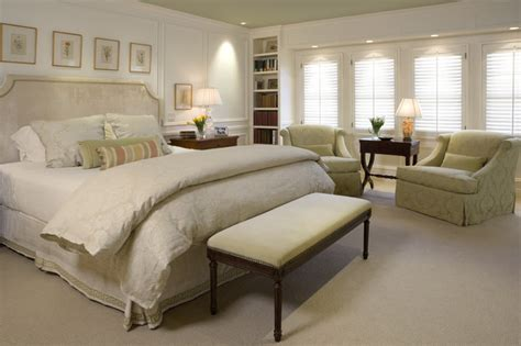 Traditional Master Bedroom  Traditional  Bedroom San