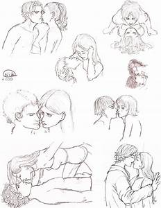 Drawings Of Cartoons Kissing | www.imgkid.com - The Image ...