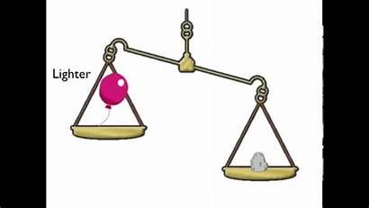Heavier Lighter Weight