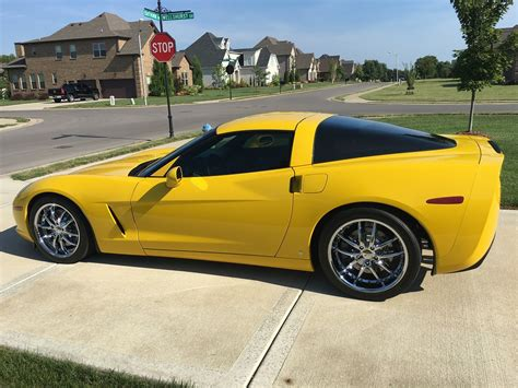 2008 Corvette Coupe  Z513lt For Sale  Velocity Yellow
