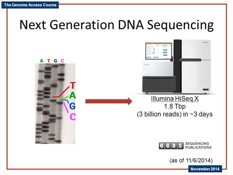 Next Sequencing Illumina Next Generation Dna Sequencing Ppt
