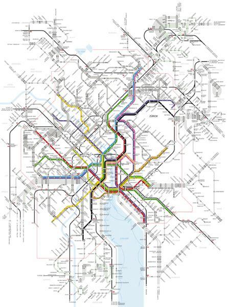 zurich transit map map   map train map zurich