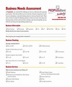 19 needs assessment form templates free premium templates With financial needs analysis template free