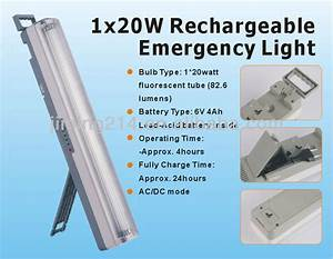 Automatic Indoor Lights Le6405 Le6405l Rechargeable Emergency Light