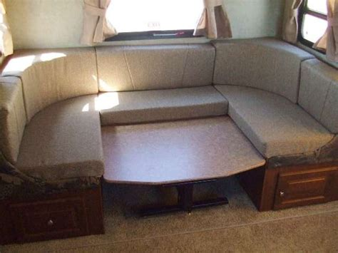 large king size  shaped dinette   roo ss travel