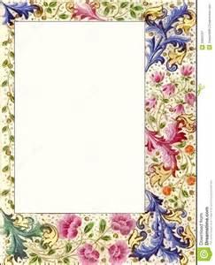 Vintage Floral Borders and Frames Free