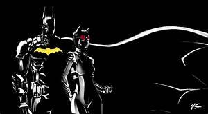 Batman and Catwoman Arkham Knight by ganubis on DeviantArt