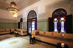 Décoration Orientale Moderne : plafond salon marocain decoration plafond ~ Teatrodelosmanantiales.com Idées de Décoration