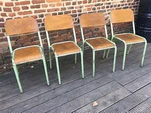 Chaise D école : ancienne chaise d 39 cole ~ Teatrodelosmanantiales.com Idées de Décoration
