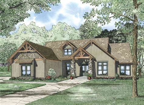 beautiful vaulted entry  architectural designs house plans