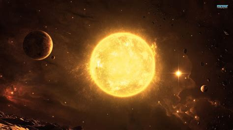 hd sun outer space solar planets widescreen wallpaper