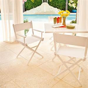 Telescope casual canvas director chair covers tc3rec for Canvas garden furniture covers