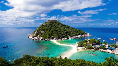Best Places In Thailand Island Koh Nang Yuan Full Hd