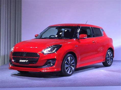 New Maruti Swift India Launch In 2018; Production Starts