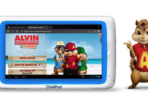Archos Child Pad Finally Launches Adds Chipmunks Themed