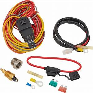 Speedway Electric Fan Relay Wiring Kit  195 Degree On