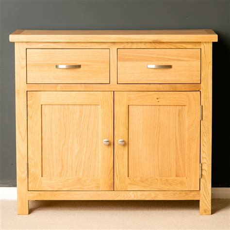 Light Oak Sideboard by Oak Small Sideboard Brand New Light Oak Cupboard