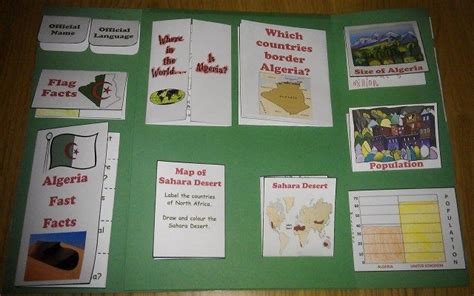 algeria lapbook lapbooking on a shoestring geography the unit and homeschool
