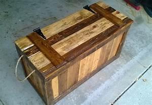 False Bottom Trunk From Reclaimed Wood (Pallets): 7 Steps