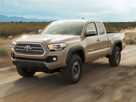 2018 Toyota Tacoma Price Photos Reviews Features
