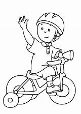 Coloring Caillou Bicycle Dibujos Printable Colouring Imprimer Dessin Cartoon Toddlers Zum Gratuit Colorear Dibujo Ausdrucken Kinder Inspirant Animados Malvorlagen Popular sketch template