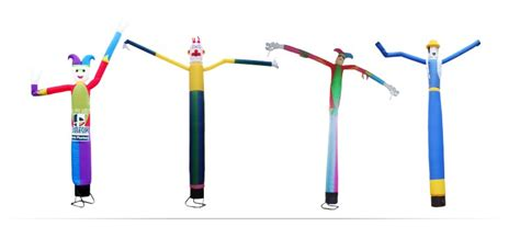 desk inflatable tube man mini inflatable sky air dancer dancing man desktop