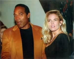 OJ and Nicole Brown Simpson