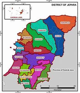 Gambar 2 1 Peta Wilayah Kabupaten Jepara