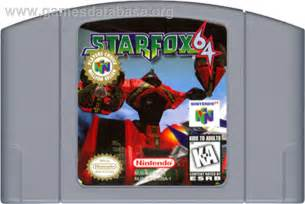 Star Fox Nintendo 64