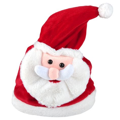animated christmas hats animated musical moving merry shout song novelty santa hat