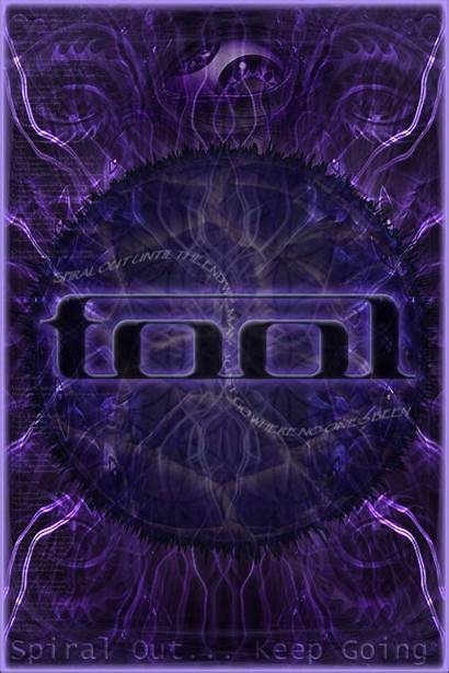 Tool Band Poster Spiral Going Keep Concert