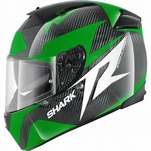 Casque Shark Speed R : casque shark speed r 2 carbon run vert sasie center moto ~ Melissatoandfro.com Idées de Décoration