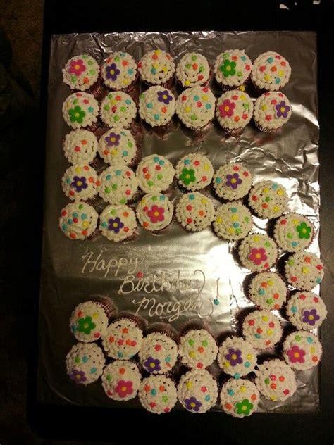 cupcake cake  year  girl recipes pinterest cake