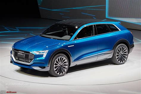 audi q6 electric suv teased team bhp