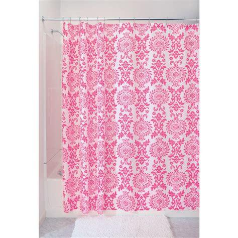 Pink Shower Curtain Liner  Curtain Menzilperdenet