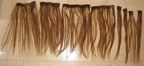 Euronext Clip-in Hair Extensions Chestnut 14inch
