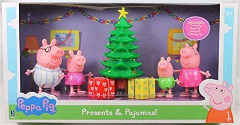 Exclusive Peppa Pig (Presents & Pajamas) Figure Set   Buy