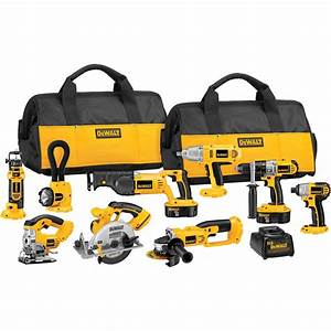 DeWALT 18-Volt XRP Cordless 9-Tool Combo Kit Gifts for