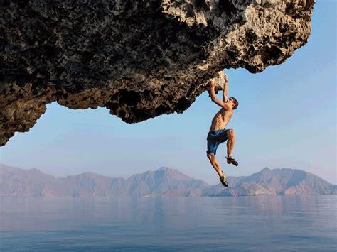 insane rock climbing     defy  laws