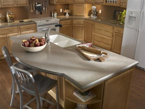 Of Solid Surface Countertops by Solid Surface Kitchen Countertops Hgtv