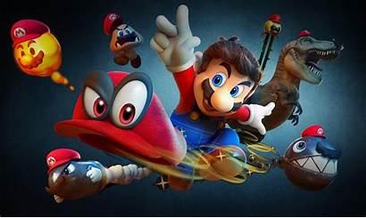 Mario Super Odyssey 8k Wallpapers 4k Games