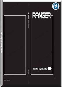 Ford Ranger Models J97u 2005 English Wiring Diagrams