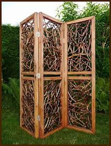 Holz Deko Garten : 3 teiliger paravent massiv holz raumteiler deko garten spanische wand neu ebay ~ Orissabook.com Haus und Dekorationen