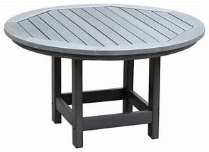 Round conversation table traditional outdoor coffee for Round coastal coffee table