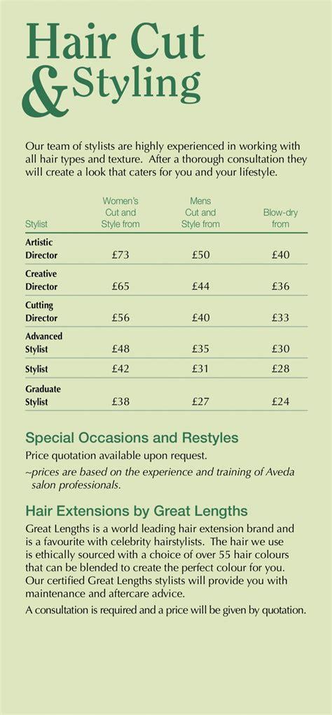 hair cuts styling aveda hair salon farnham