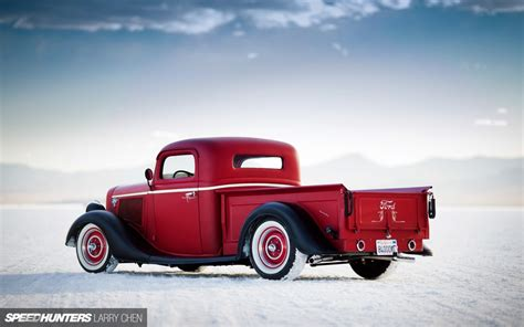 The Analog Life Ford Hot Rod Pickup Speedhunters