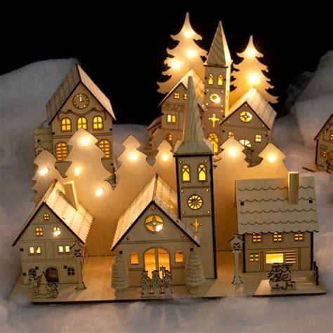 led lights for christmas village houses 457 best christmas villages images on pinterest