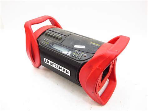 Cd Cassette Recorder by Craftsman Radio Cd Cassette Recorder Property Room
