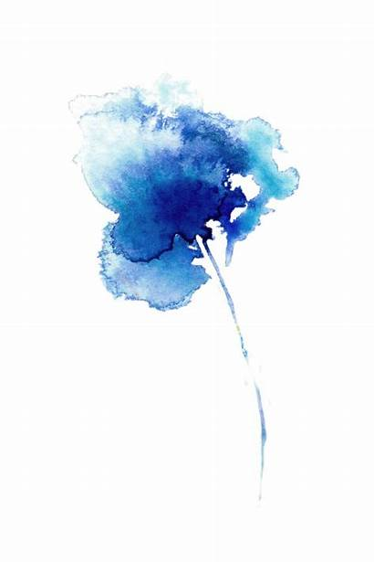Transparent Watercolor Abstract Background Watercolour Flower Painting